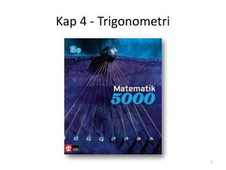 Kap 4 - Trigonometri