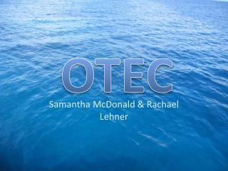 Samantha McDonald & Rachael  Lehner