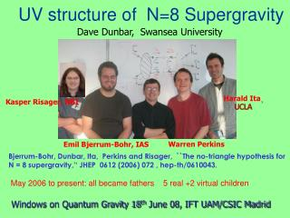UV structure of  N=8 Supergravity