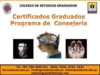 Colegio  de  estudios Graduados