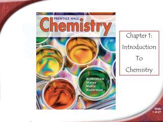 Chemistry 1.1