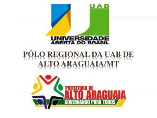 Pólo Regional da UAB de Alto Araguaia/MT