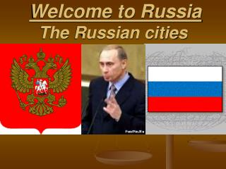 Welcome to Russia The Russian cities