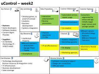 uControl –  week2