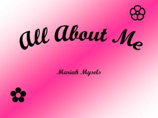 Mariah Mysels