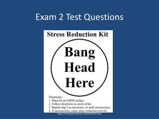 Exam 2 Test Questions