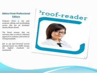Academic Proofreading Services for Students