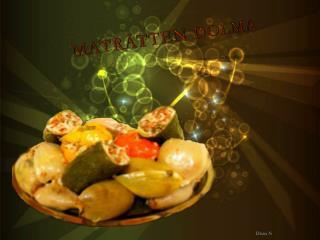 Maträtten dolma
