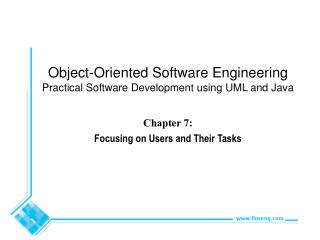 Chapter 7:  Focusing on Users and Their Tasks