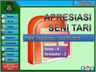 Kelas  :  X Semester : 2