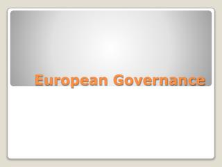 European Governance