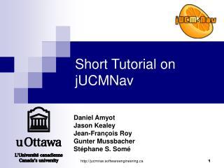 Short Tutorial on jUCMNav