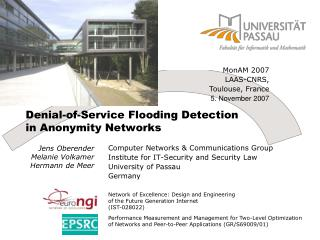 Denial-of-Service Flooding Detection in Anonymity Networks