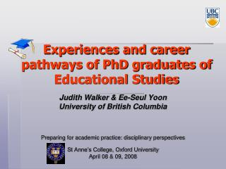 Experiences and career pathways of PhD graduates of Educational Studies
