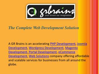 Unmatched Web Development Solutions For Your Online Business