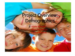 Project Overview: Demographics