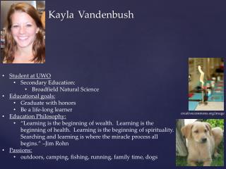 Kayla Vandenbush