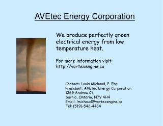 AVEtec Energy Corporation
