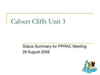 Calvert Cliffs Unit 3