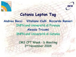 Catania Lepton Tag