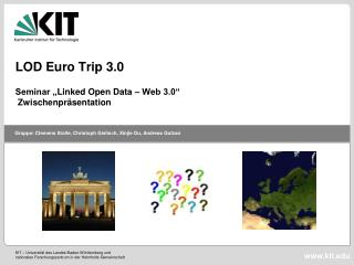 LOD Euro Trip 3.0