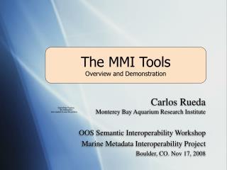 The MMI Tools