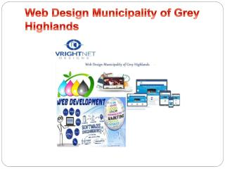 Web Design Municipality of Grey Highlands-www.wrightnetdesigns.ca