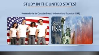 Presentation by the Canadian Bureau for International Education (CBIE)