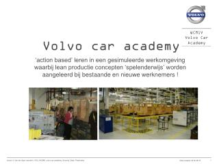 Volvo car academy