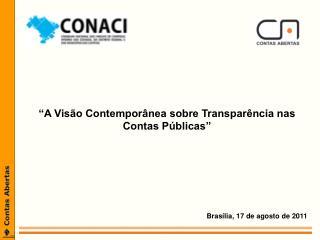 Brasília, 17 de agosto de 2011