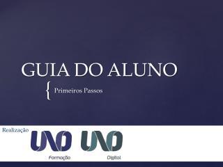 GUIA DO ALUNO