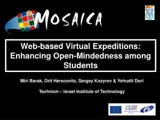 Web-based Virtual Expeditions: Enhancing Open-Mindedness among Students