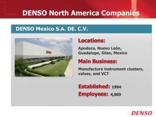 DENSO North America Companies