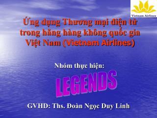 Ứng dụng Thương mại điện tử trong hãng hàng không quốc gia Việt Nam  (Vietnam Airlines)