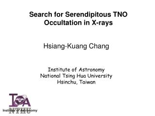Search for Serendipitous TNO Occultation in X-rays