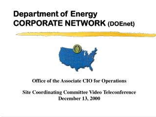 Department of Energy  CORPORATE NETWORK  (DOEnet)