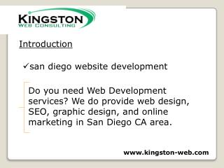 san diego website development