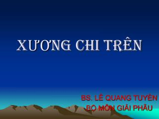 X??NG CHI TR�N