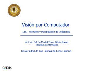 Visión por Computador (Lab1: Formatos y Manipulación de Imágenes)