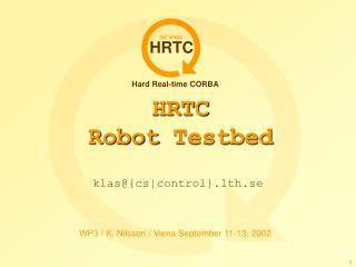 HRTC Robot  Testbed