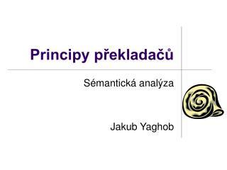 Principy překladačů