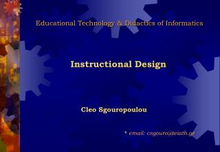 Educational Technology & Didactics of Informatics