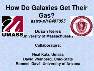 How Do Galaxies Get Their Gas?