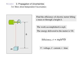 3. Propagation of Uncertainties