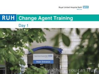Change Agent Training