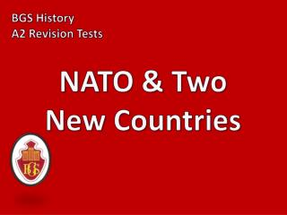 NATO & Two New Countries