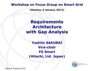 Requirements Architecture with Gap Analysis