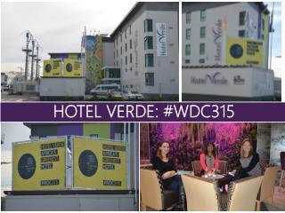 HOTEL VERDE: #WDC315