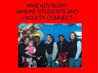 May 13th Faculty  Advisory Committee