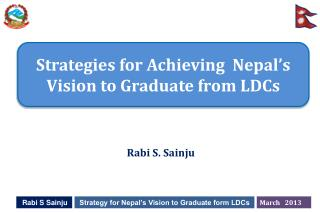 Strategies for Achieving  Nepal's Vision to Graduate from LDCs